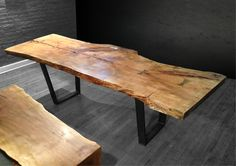 brushed wood table - Google Search