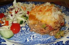 Shepherd's Pie is one of those dishes that can be prepared ahead of time with a little planning, assembled and served later in the week w. Coleslaw Mix, Italian Dressing, Occasion Cakes, Beef Recipes, Dinner Recipes, Favorite Recipes, Dishes, Canning, Breakfast