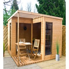 Garden Room Villa 10ft x 10ft | Summerhouses | | Garden Sheds from Wilkinson Plus