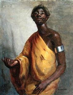 Gail  Schulman - The Prophet (oil on canvas)