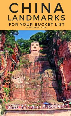 25 Incredible Landmarks in China - 25 Incredible Landmarks in China Anyone who sees it will agree that the Grand Buddha of Leshan is one of China's most impressive landmarks. find out the other 25 Cool Places To Visit, Places To Travel, Travel Destinations, Ecuador, Alaska, China Travel, China Trip, Paris Travel, Visit China