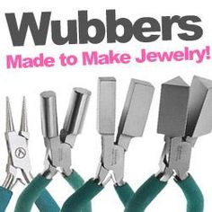 Wubbers at www.beadaholique.com - The professional choice for jewelry-making, Wubbers pliers are Made to Make Jewelry