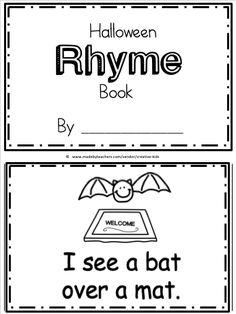 Rhyming Activities, Preschool Learning Activities, Teaching Resources, Fall Preschool, Preschool Classroom, Preschool Kindergarten, Positional Words Kindergarten, Rhyming Words, Teaching Reading