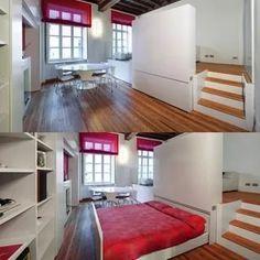 двуспальная выдвижная кровать подиум в однокомнатной квартире: 14 тыс изображений найдено в Яндекс.Картинках
