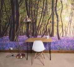 Bluebell Woods Self Adhesive Wallpaper Mural