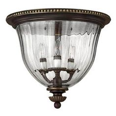 Oxford Outdoor Flush-Mount Ceiling Light
