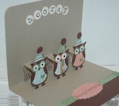 Inky Moose: Cute Kids Card Class