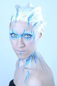 by Chiara Bianchi.. do a mask version of this for boys ice monster?