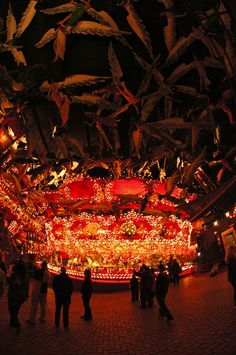 The carousel at The House on the Rock.  Meetingplace of American Gods.  Phantasmagorical and awesome...