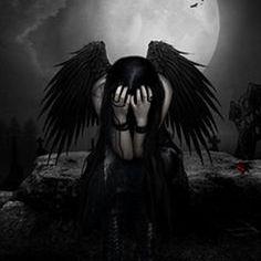 OK, not Victoria Frances, but I really love this one. Dark Gothic Art, Dark Fantasy Art, Dark Angels, Angels And Demons, Fallen Angels, Fallen Angel Names, Fallen Angel Quotes, Gothic Angel, Ange Demon