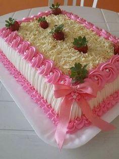 Cake Icing, Buttercream Cake, Cupcake Cakes, Cupcakes, Cake Decorating Techniques, Cake Decorating Tips, Pretty Cakes, Beautiful Cakes, Gateaux Cake