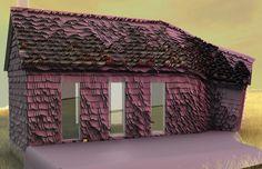 Utah schoolhouse. Jason Payne, Hirsuta, a small architecture firm.