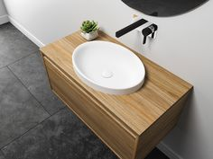 Dignity Basin | City 46 Vanity | St Michel Bathroomware Designed & Made in New Zealand