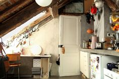 10 Engaging Cool Tips: Attic House Storage Solutions attic apartment loft.Attic Remodel Before And After attic desk bookshelves. Attic Bedroom Kids, Attic Rooms, Attic Spaces, Attic Playroom, Garage Attic, Attic Office, Attic Closet, Attic Bathroom, Attic Renovation