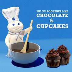 We go together like Chocolate & Cupcakes!