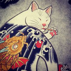 Horitomo monmon cat picking teeth color