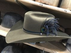f21843576cb Custom Competitor in Haden with double welt stitching on Brim and Black  ribbon with matching self