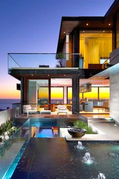8 Timely Cool Tips: Contemporary Fireplace Electric contemporary staircase architecture.Contemporary House In Kerala. Houses Architecture, Interior Architecture, Beautiful Architecture, Contemporary Architecture, Design Exterior, Modern House Design, Home Fashion, My Dream Home, Dream Homes