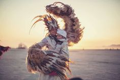 Multimedia artist Zipporah Lomax is documenting children and their parents who attend Burning Man for a fine-art photography book titled 'Dusty Playground.' Photo: Zipporah Lomax / Zipporah Lomax