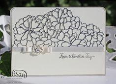 Hochzeit Karte - Stampin up  - Liebe zum Detail