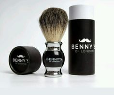 Mens luxury shaving brush set, #benny's of #london - badger hair #shave valentine,  View more on the LINK: http://www.zeppy.io/product/gb/2/192097904787/