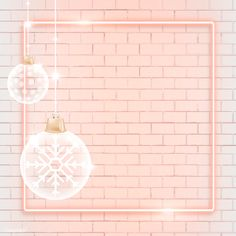Christmas Pattern Background, Background Patterns, Christmas Frames, Pink Christmas, White Baubles, Lash Room, Instagram Frame, Pink Wallpaper Iphone, Beige Background