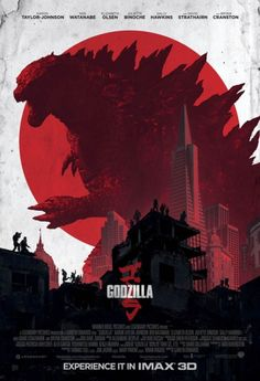 Gareth Edwards' Godzilla just screams amazing. Take a look at the new Godzilla IMAX poster. The poster has that classic appeal. Godzilla releases i. Movie Poster Art, New Poster, Godzilla 2014 Movie, King Kong, Legendary Pictures, Kunst Poster, Alternative Movie Posters, Cinema Posters, Cool Posters