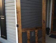 Handmade screen door | The Owner-Builder Network