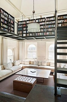 I would love to build a study with something like this!