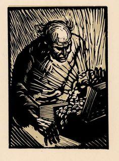 Jan Konůpek - Portrét V. E. Babky (Žižka 1115), 1943.