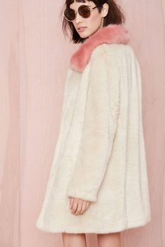 Unreal Fur Candy Blossom Coat | Shop What's New at Nasty Gal