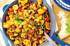 Orecchiette gets its name from its 'little ears' shape. It's perfect for catching this delicious tomato sauce.