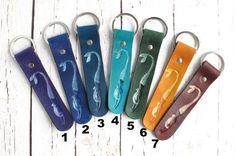 Colorful Mermaid Keychains, Leather Keychain, Tooled Mermaid Leather Keychain, Leather Key Fob, Mermaid Keychain, Tooled Leather Key Chains by AmysLeatherLane $ !9.95 (USD)