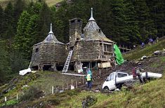 Hagrid's Hut http://www.telegraph.co.uk/culture/harry-potter/11166973/JK-Rowling-to-build-Hagrid-Hut-on-edge-of-her-estate.html