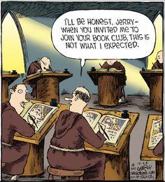 Friar's book club.