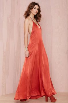After Party Vintage Dream On Maxi Dress | Shop Dresses at Nasty Gal