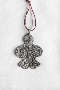 SNOW MAN by MyKi pendant, silver Подвеска SNOW MAN by MyKi, серебро