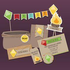 Festa para Imprimir -  Junina