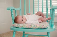New Parents Welcome Baby Girl with Pink, Green, and Blue Nursery   Two Bright Lights