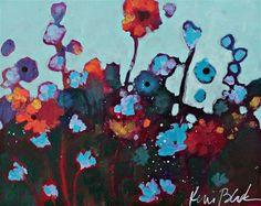 "Daily+Paintworks+-+""Flowers""+-+Original+Fine+Art+for+Sale+-+©+Kerri+Blackman"