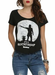 The Walking Dead Ricktatorship Hot Topic shirt! I'm also getting this shirt OMG gonna be awesome!