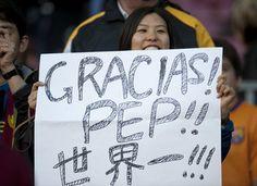 Thanks Pep Guardiola !