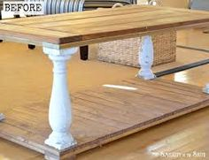 vintage table when to paint or keep original - Google Search