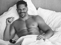 Joe Manganiello Hits the Beach with People Magazine image Joe Manganiello Shirtless Bed