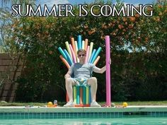 Summer is coming. Game of Thrones spoof.