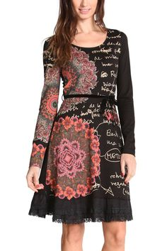 Desigual Dress Saray 47V2145   Fun Fashion   Canada