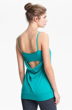 Zella Dance It Out Tank | Nordstrom I love the color and the back of this workout top! I MUST GET!!!