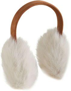 Toscana Shearling Earmuffs - Lyst