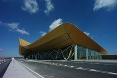 Kunming Changshui International Airport | Beijing Institute of Architectural Design; Aluminum panels by Hunter Douglas Contract | Archinect