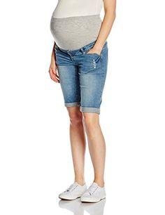 #MAMALICIOUS #Damen #Umstands #Mlalba #Bermuda #Shorts #N, #Blau #(Medium #Blue…